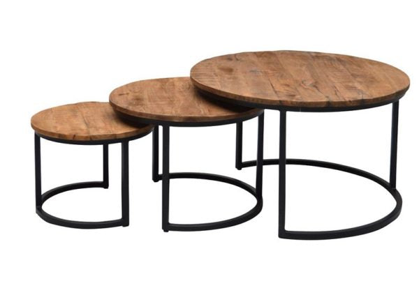Brix salontafel Jarrel set of 3