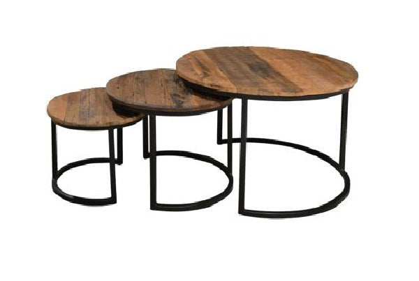 Brix salontafel Dakota Jarrel set of 3