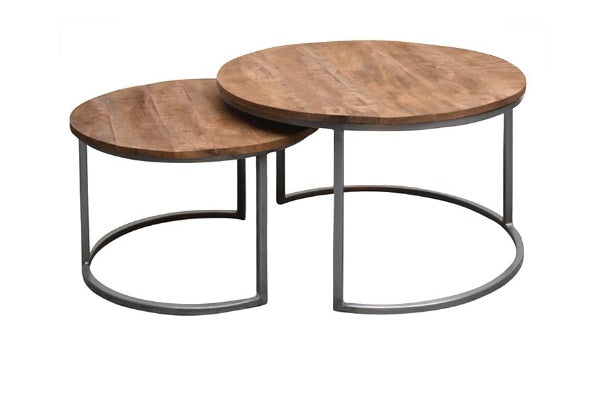 Brix salontafel Jamie set of 2