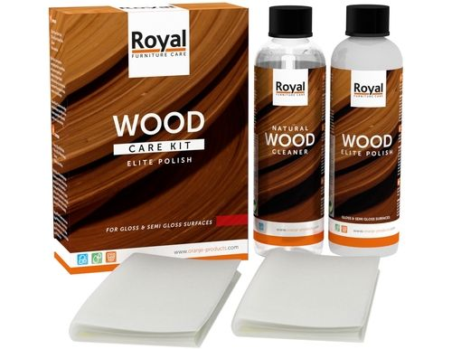 Wood Care Kit Teakfix + Cleaner 2x250ml