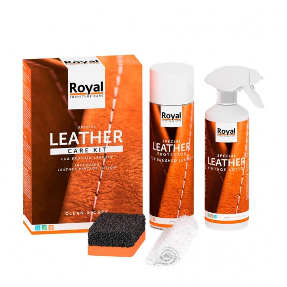 Leder Care Kit Brushed Leather
