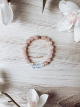 Load image into Gallery viewer, Rose Quartz and Opalite Bracelet