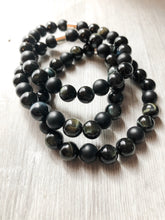 Load image into Gallery viewer, Black Onyx and Tiger Eye Bracelet