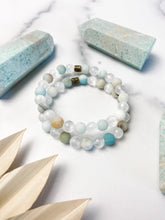 Load image into Gallery viewer, Amazonite and Selenite Bracelet