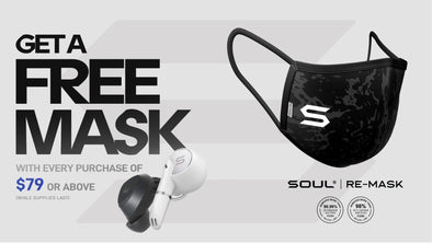 NEW RELEASE: SOUL's reusable protective face mask is now available! - SOULNATION