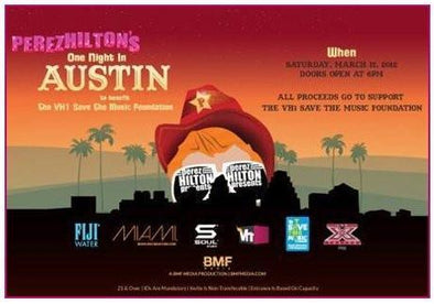 SOUL HEADS TO SOUTH BY SOUTHWEST THIS WEEKEND WITH PEREZ HILTON AND VH1'S SAVE THE MUSIC FOUNDATION! - SOULNATION