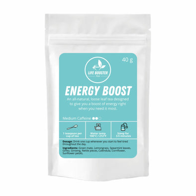 Energy Boost Tea - Life Booster Tea