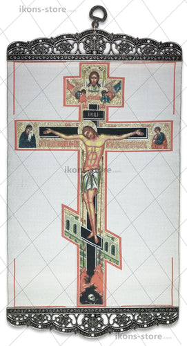 Crucifixion of Jesus Christ Icon-ikons store