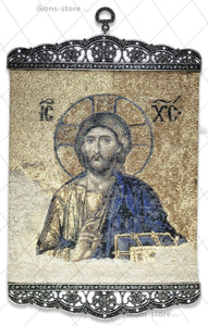 Jesus Christ Pantocrator Authentic Icon-ikons store