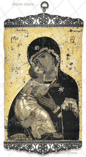 Virgin Mary Historical Eleusa Icon-ikons store