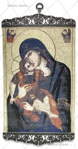 Virgin Mary and Baby Jesus Christ Icon-ikons store
