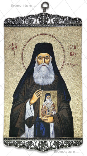 Saint Savvas of Kalymnos Icon-ikons store