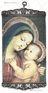 Mary and Jesus Madonna Icon-ikons store