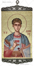 Load image into Gallery viewer, Saint Demetrius of Thessaloniki Portrait Icon-ikons store