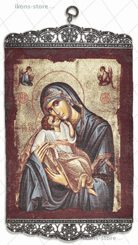 Virgin Mary Eleusa Page Icon-ikons store