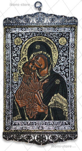 Virgin Mary Eleusa Mosaic Icon-ikons store