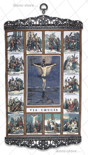 Jesus Christ Via Crucis Icon-ikons store