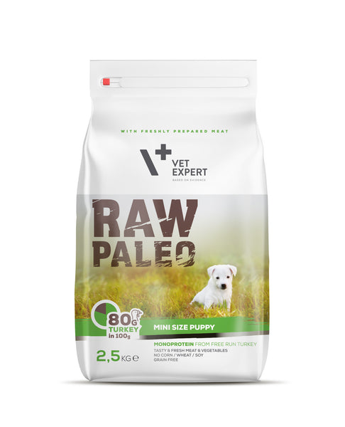 Hundefutter – VetExpert Raw Paleo Puppy Mini 2,5kg