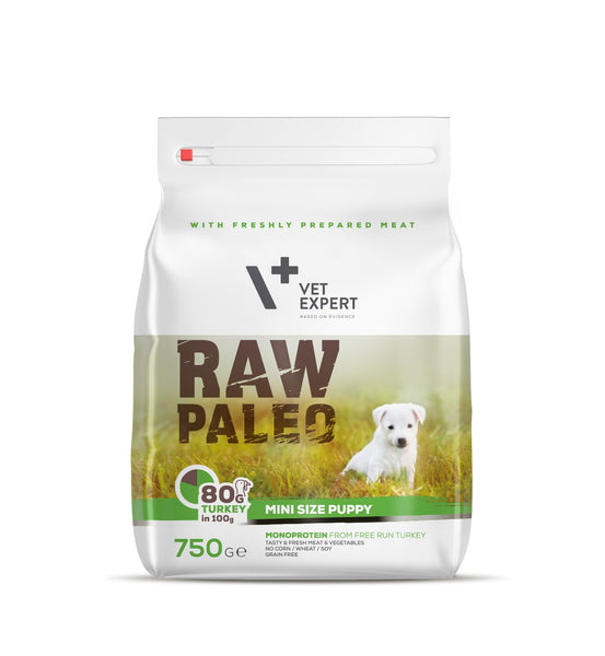 Hundefutter – VetExpert Raw Paleo Puppy Mini 750g