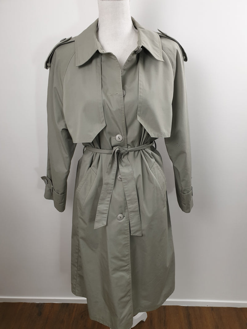 Trench gris clair - T.F.T Vintage Shop