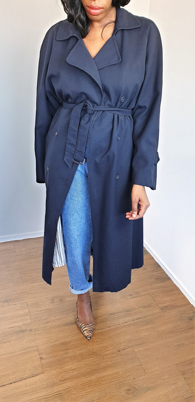 Trench oversize - T.F.T Vintage Shop