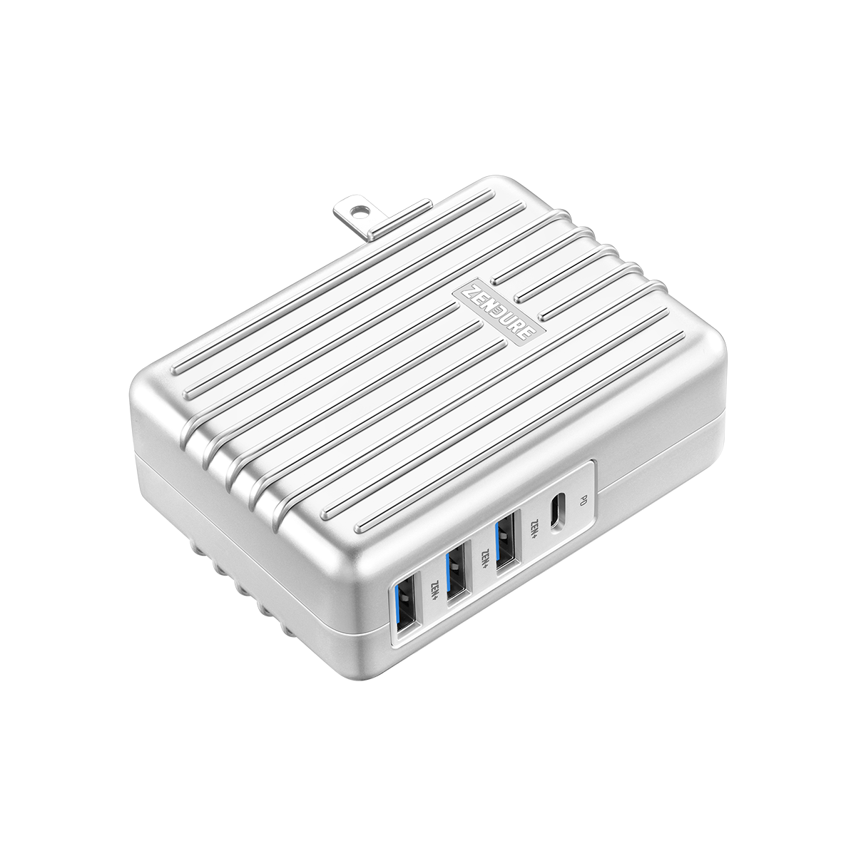 4-Port 45W Wall Charger with PD