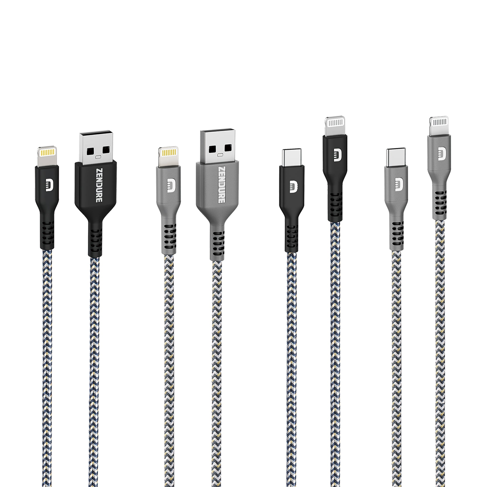 SuperCord Lightning Variety 4-Pack