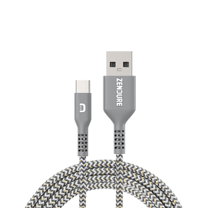SuperCord USB to USB-C Cable (1m/3.3 ft.)