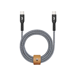 SuperCord USB-C to USB-C Cable (1m/3.3 ft.)
