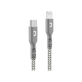 SuperCord USB-C to Lightning Cable (1m/3.3 ft.)