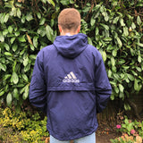 Adidas Pullover Windbreaker Jacket