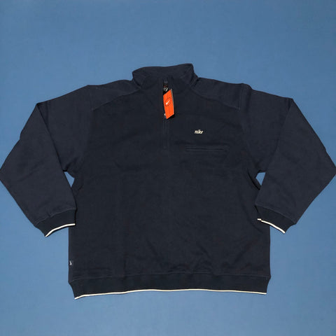 BNWT Nike Quarter Zip Jumper Navy