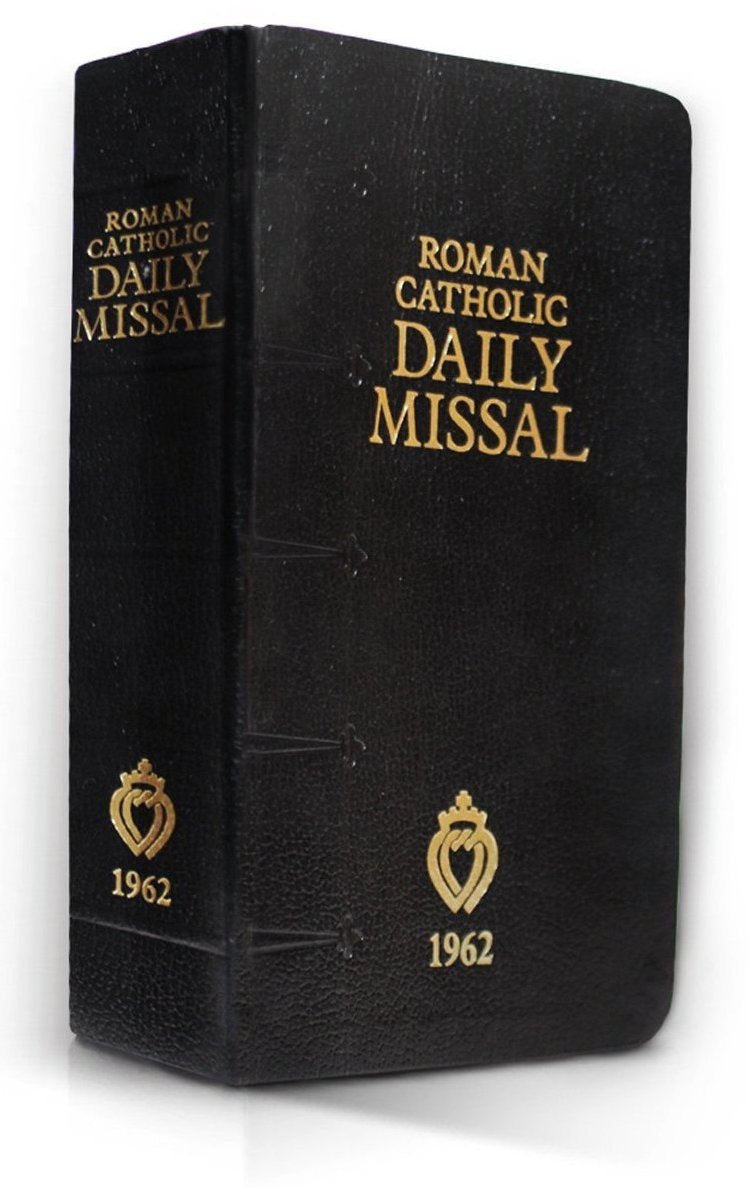 1962 - Roman Catholic Latin-English Daily Missal