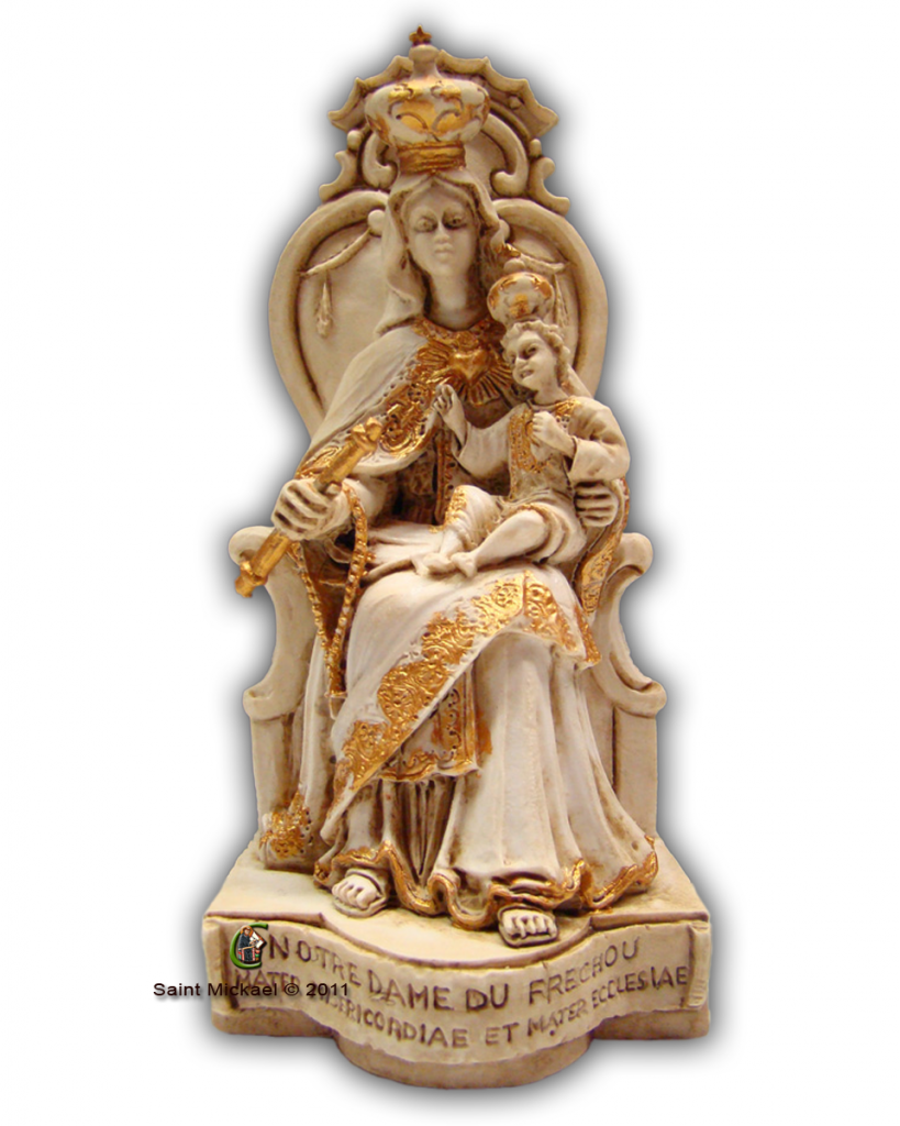 Small Our Lady of Frechou Statue