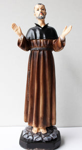 Saint Francis of Assisi with Extended Arms, Praising