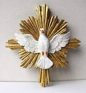 Rare: Holy Spirit - Wall Medallion