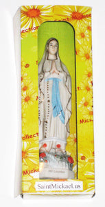 Our Lady of Lourdes - Notre-Dame de Lourdes, France - Fine Porcelain Statue