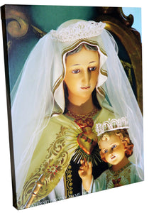 Beautiful Canvas-Like Picture of Our Lady of Frechou,
