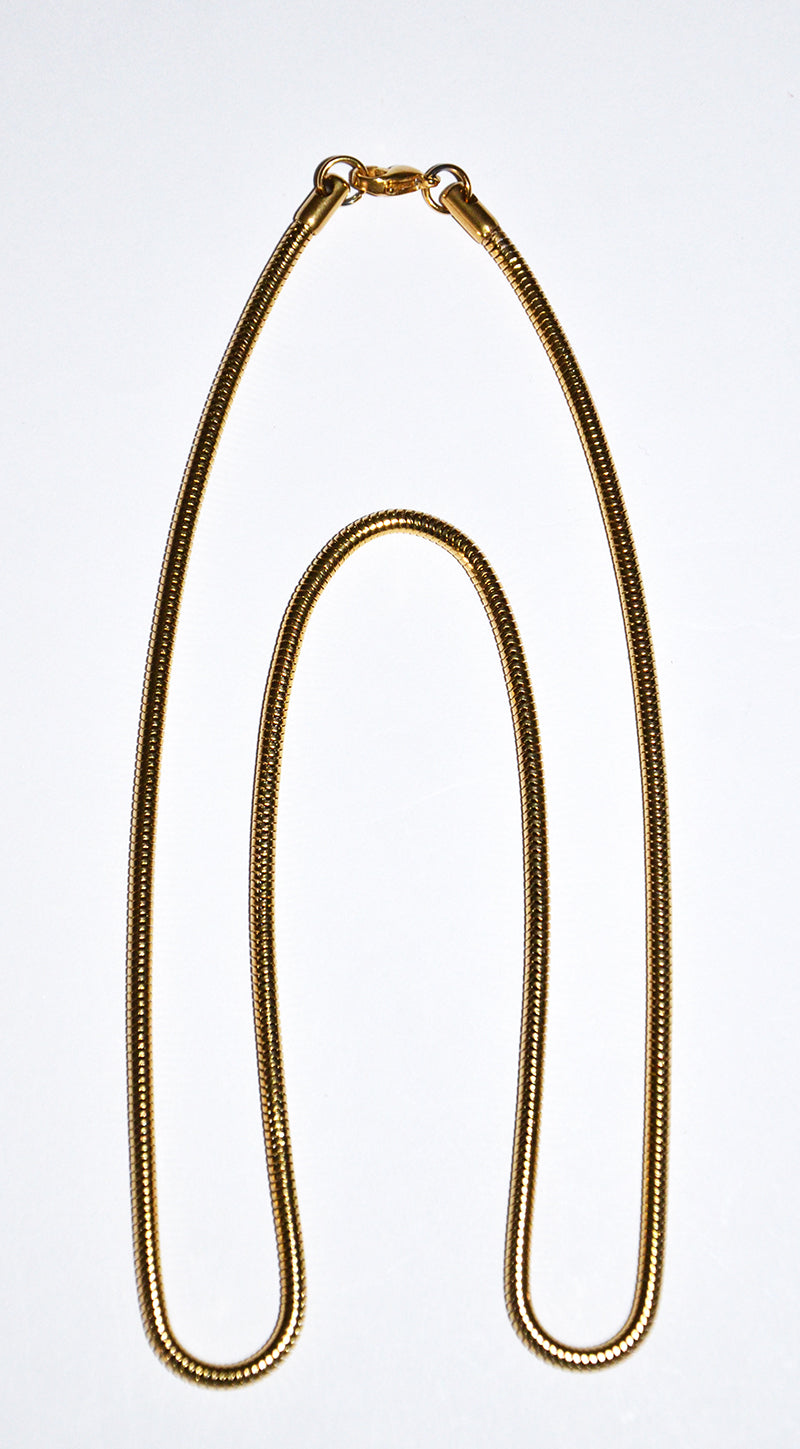 Stainless steel golden finish Necklace Chains