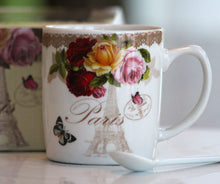 Load image into Gallery viewer, From Paris With Flowers Mug Set - Pick the Flowers!