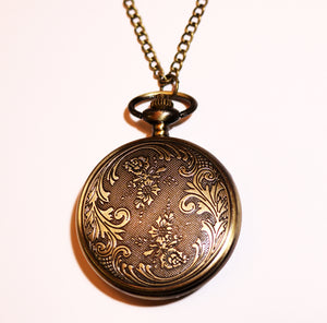 Vintage Looking Mother of Christ Pocket or Pendant Watch