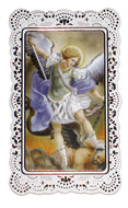 Saint Michael the Archangel Holy Prayer Card