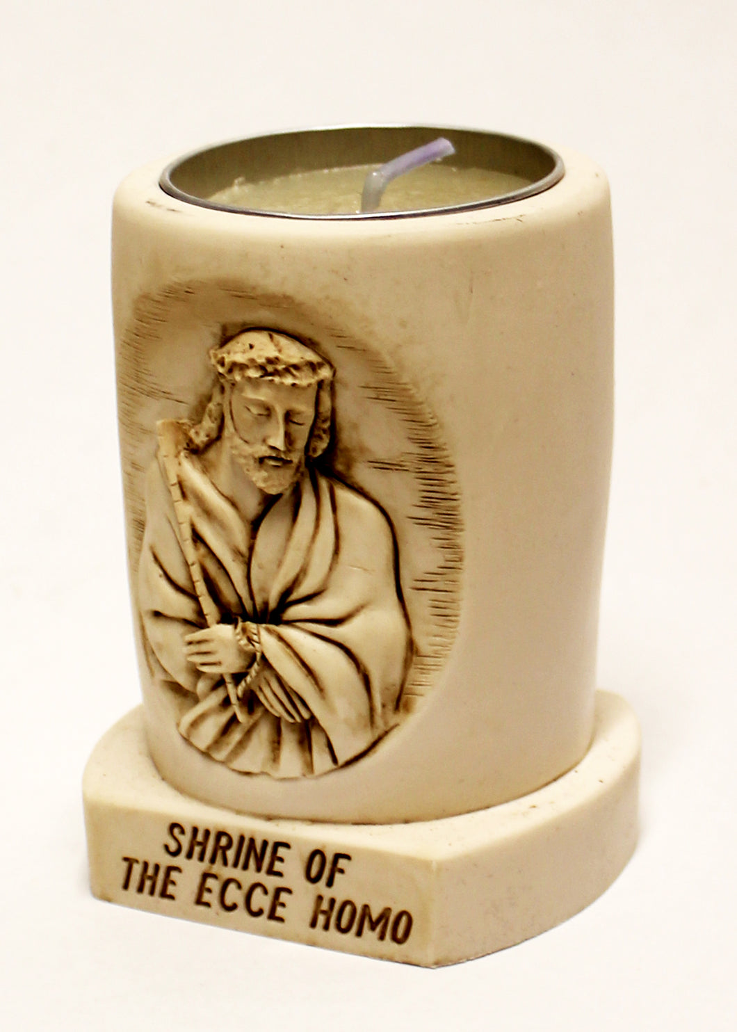 Votive Candle Holder of the Ecce Homo