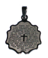 Our Father in the Spanish Language Medal