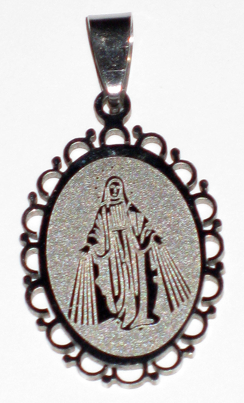 Elegant Immaculate Conception Medal