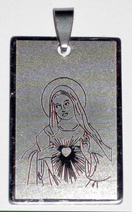 Nice Immaculate Heart of Mary Pendant Plaque