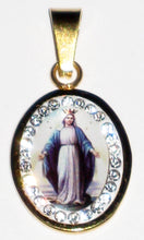 Load image into Gallery viewer, Immaculate Conception With Diamonds