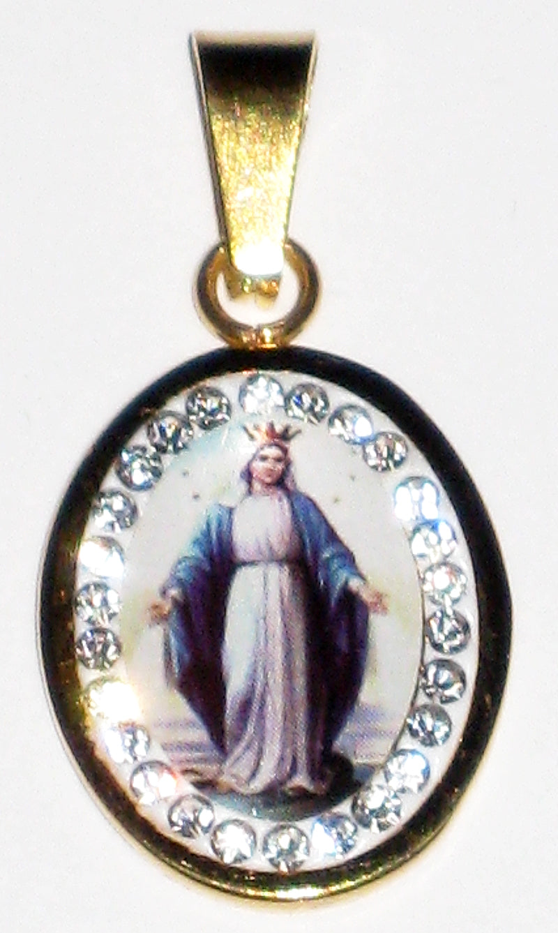 Immaculate Conception With Diamonds