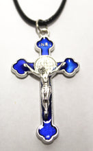 Load image into Gallery viewer, Medium Saint Benedict Cross on Necklace
