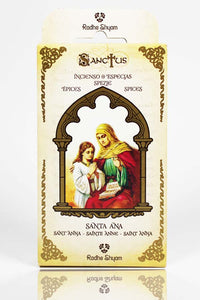 Sanctus Incense Cones: Saint Anne - Spices